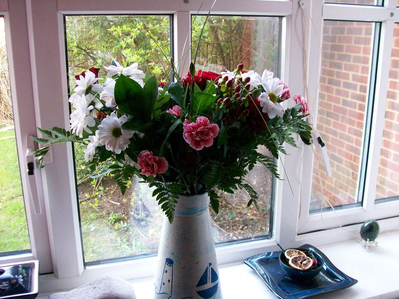 Birthday flowers 3 Apr 07
